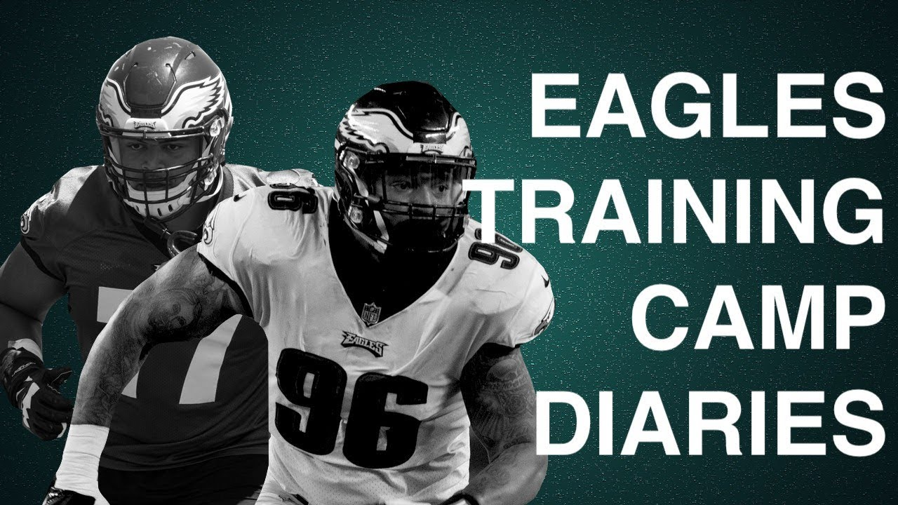 74160602 FIGHT BREAKS OUT AT EAGLES PRACTICE | EAGLES TRAINING CAMP DIARIES #11