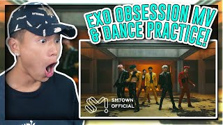 Download lagu EXO 엑소 'Obsession' MV & Dance Practice REACTION!