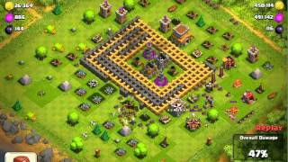 Clash of Clans-I'm Back!/Massive 940k Raid!