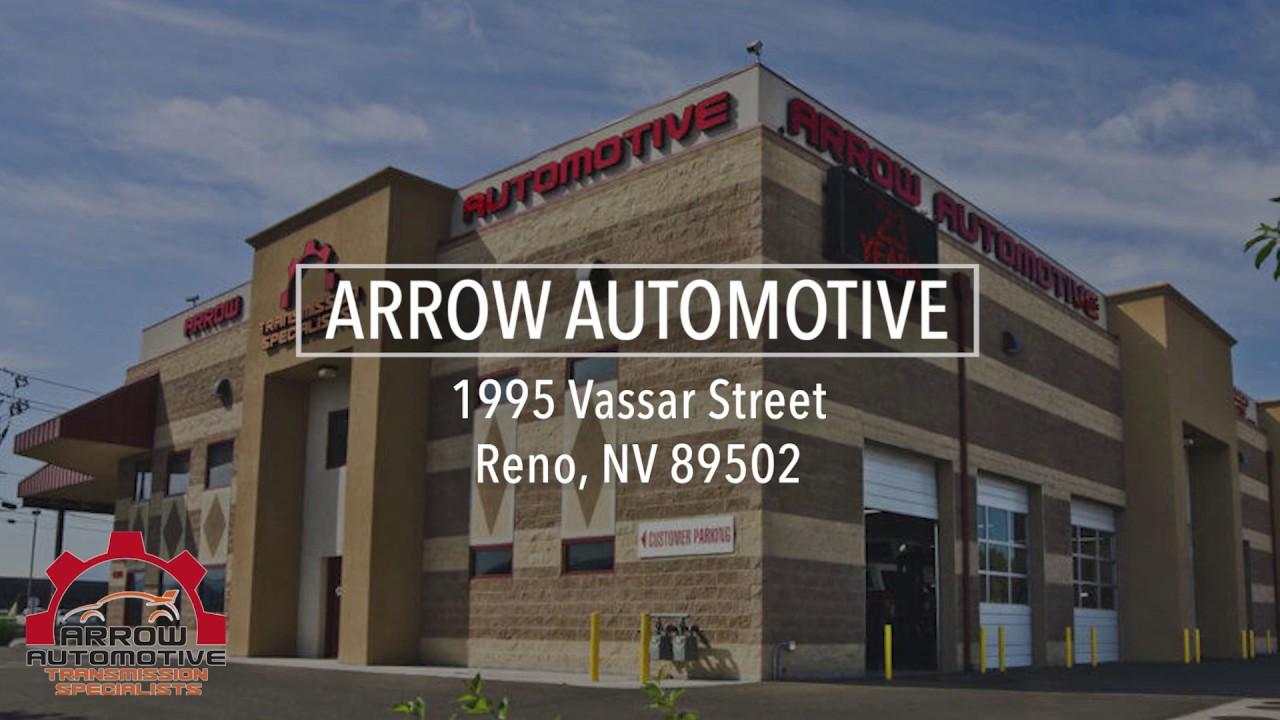Reno Auto Sound >> Auto Repair In Reno Nv Arrow Automotive Transmission Specialists