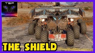 Crossout #485 ► The SHIELD - Ultimate Dual Reaper + Bastion Cab Wheeled Build (Prototype)