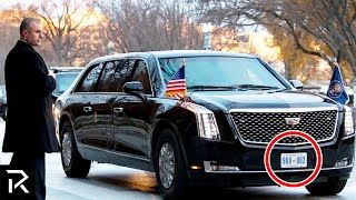 10 Hidden Secrets About Trump's New Limo