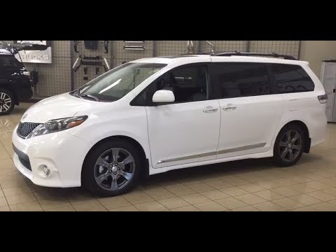2017 Toyota Sienna Se Technology Review