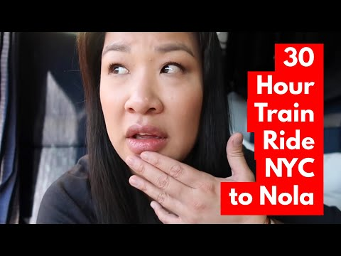 30 Hour Amtrak Train From NYC To New Orleans
