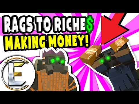 MAKING MONEY!  Unturned Roleplay Rags to Riches Reboot #18  Business Starts To Take Off RP