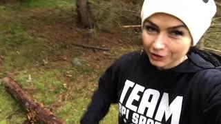 Тренировка Фитнес Панды в лесу Чехии