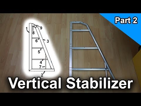 The Vertical Stabilizer [Part 2] | Build your own Airplane !