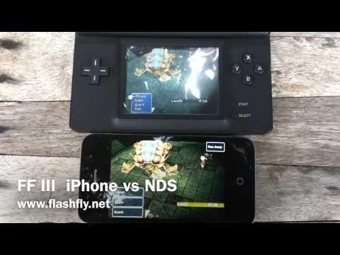 Final Fantasy III iPhone vs Nintendo DS