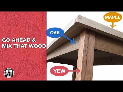 Go Ahead! Mix That Wood