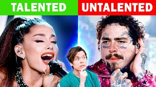 Talented VS Untalented Singers