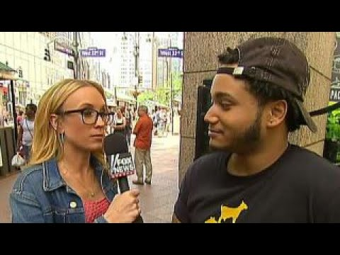 Kat Timpf hits the streets to celebrate National Smile Day