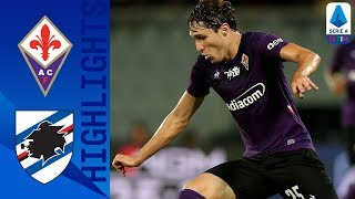 Fiorentina 2-1 Sampdoria | Fiorentina end their drought by winning 2-1 against Sampdoria! Serie A