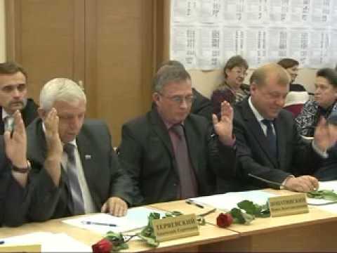 Главой г  Кузнецка избран Владимир Назаров