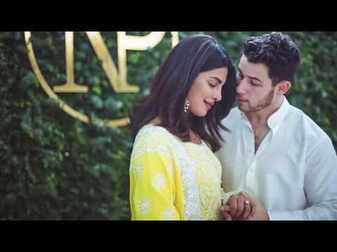 Priyanka Chopra & Nick Jonas At Priyankas Karmyog House 2018