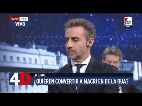4D | CUATRO DÍAS - LUIS MAJUL - ENTREVISTA A GABRIELA MICHETTI