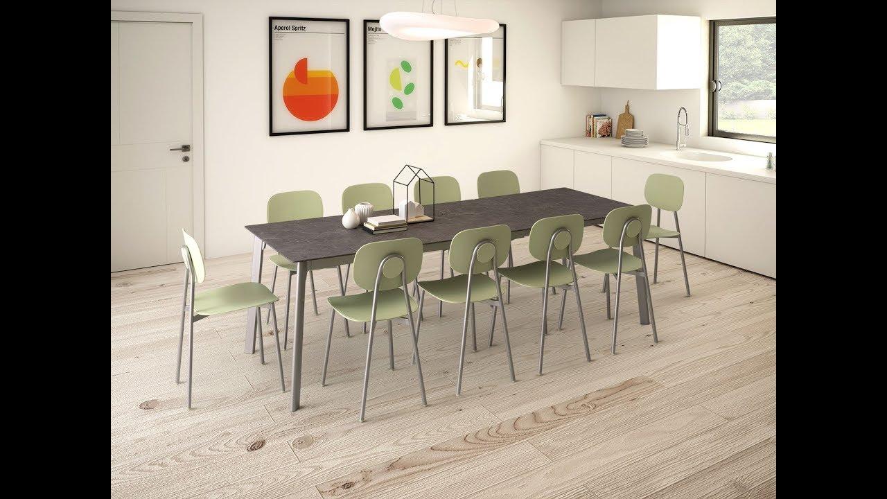 Tavolo rettangolare allungabile da cucina Basil