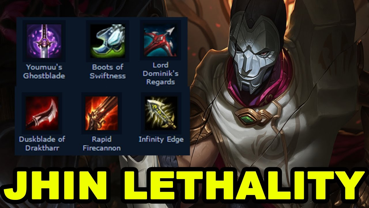 jhin gameplay how to build