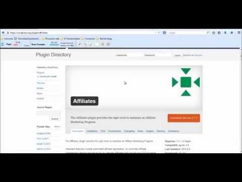 Programa de afiliados con WP Affiliates   Introducción e instalación ...