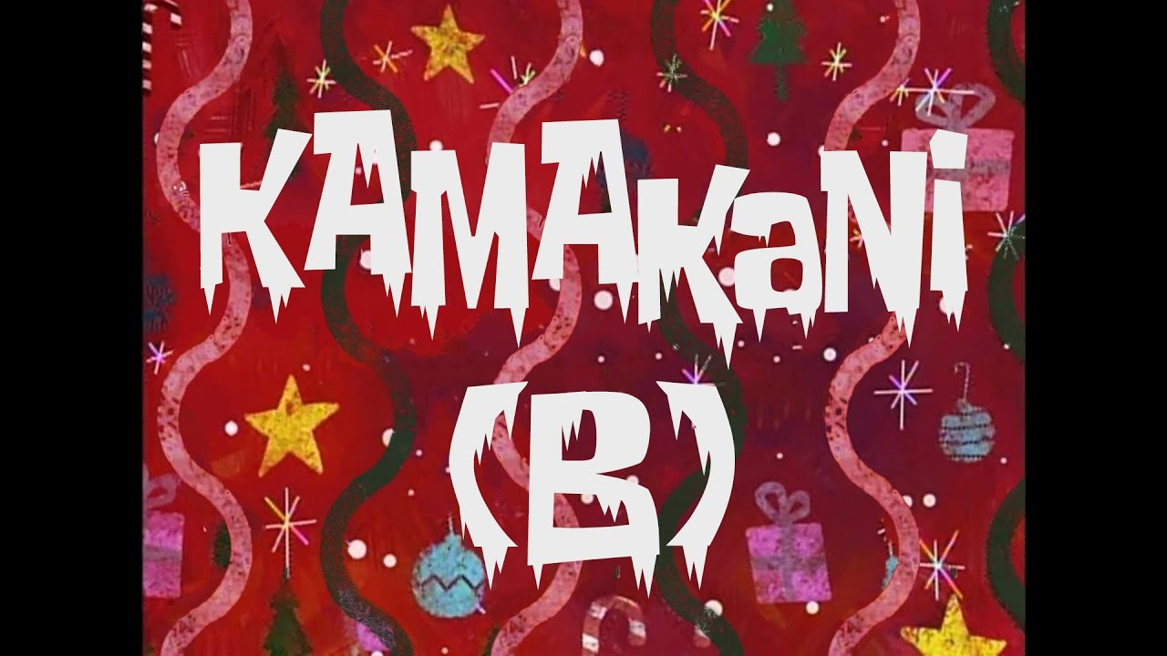 Spongebob music kamakani b w bells youtube