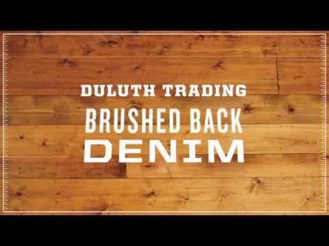 Duluth Trading Women's Brushed Back Denim