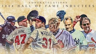 Baseball Hall of Fame Induction 2014