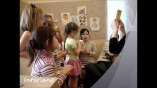 Отрывок занятия с детьми. Языковая школа Интерлэнг. обучение иностранным языками