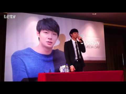 [130110] Yuchun Beijing Media Day #4