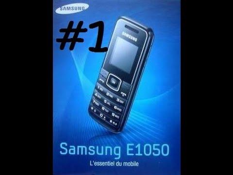 Samsung E1050 l'essentiel du mobile