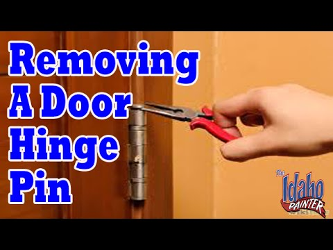 How To Remove A Door Hinge Pin Door hinge pin removal hacks Home