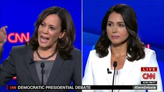 Tulsi Gabbard torches Kamala Harris on Criminal Justice Reform tulsi.to/Join-us Tulsi Gabbard takes on Kamala Harris over her prosecutorial record in California and her record on criminal justice reform, the death penalty ...