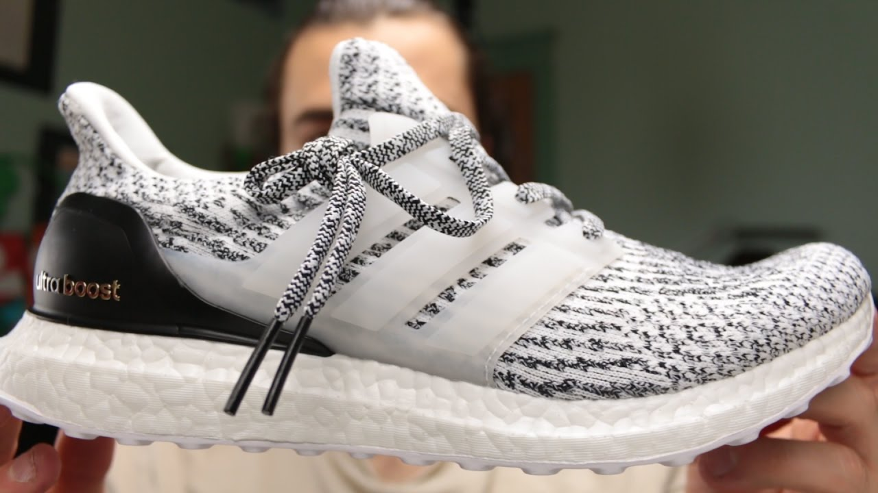 2b4cceed835 Ultra boost 3.0 Oreo Zebra - YouTube