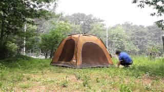캠프타운 INSTA 텐트 콩코드200 설치 동영상