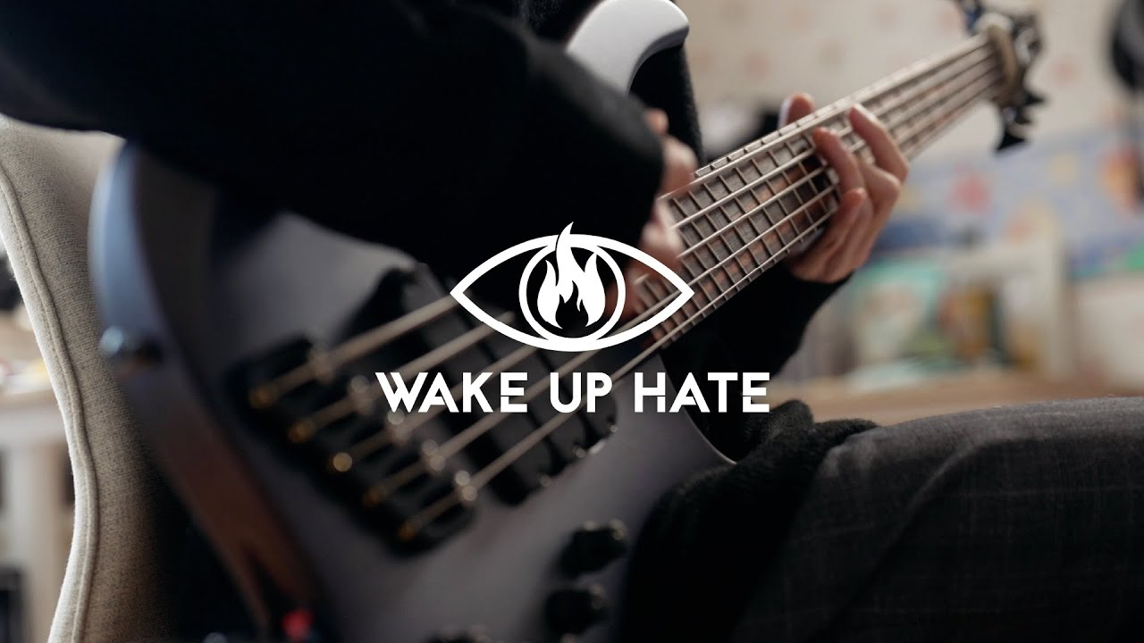 WAKE UP HATE - Love Me Like A Hurricane | Bass Cover