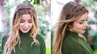 tranc a em bandolete tiara braided headband   alice golden locks