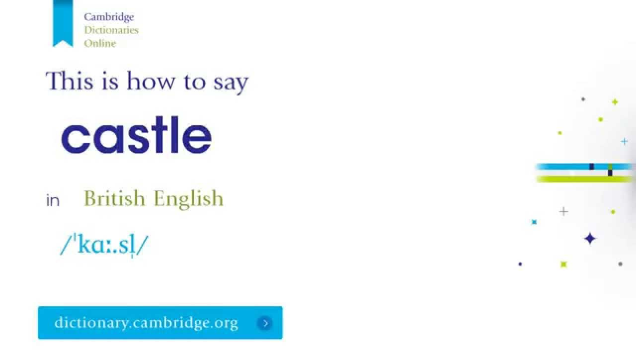 How to say castle