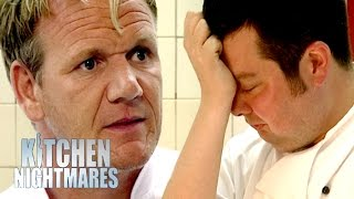 Head Chef Brought to Tears by Angry Gordon | Kitchen Nightmares