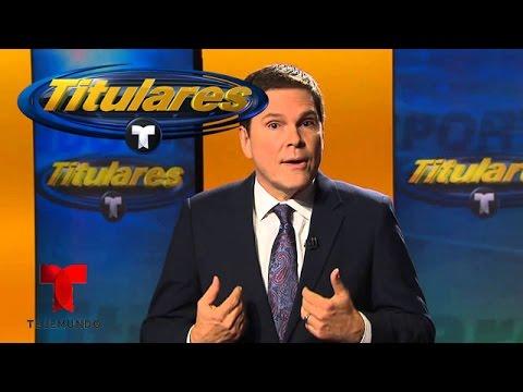 Se despide Jessi Losada de Deportes Telemundo | Titulares Telemundo | NBC Deportes
