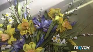Моя Вышивка лентами «Аромат весны»