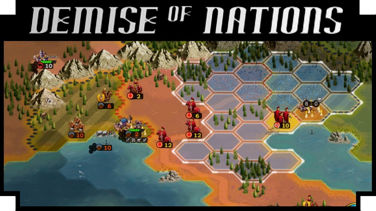 Demise of Nations – (Turn Based Strategy War Game)