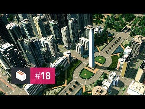 Let's Design Cities Skylines — EP 18 — Buen Ayre Square