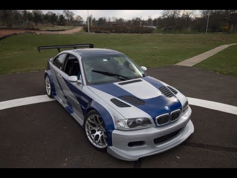 NFSMW M3 GTR Build Cost?!?! - YouTube