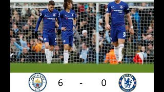 Why did Chelsea lose 6-0 to Manchester City