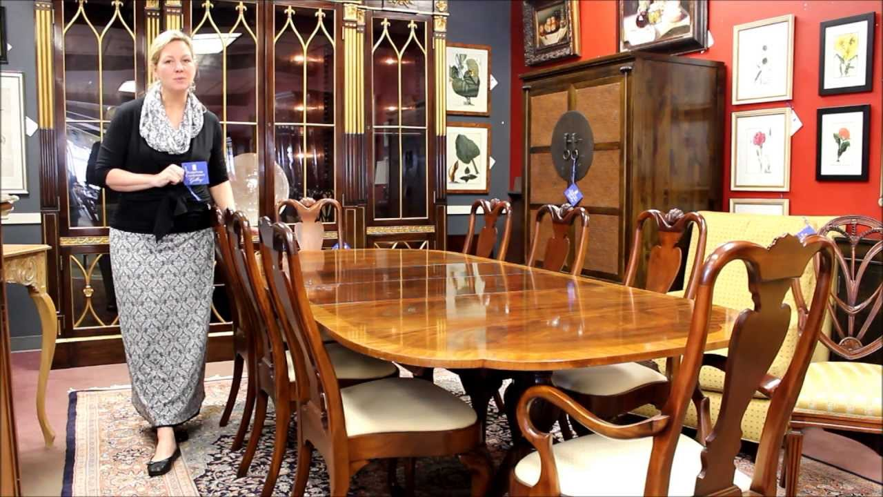 baker dining room table and chairs baker furniture dining table 8856