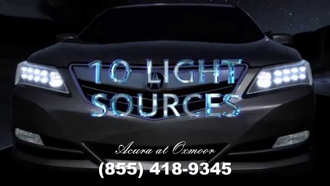 Jewel Eye LED Headlights on the 2014 Acura RLX available ...