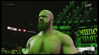 WWE 2K19 Triple H vs. The Undertaker gameplay (Xbox One, PS4)