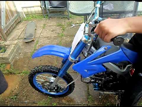 orion 125cc pit bike youtube. Black Bedroom Furniture Sets. Home Design Ideas