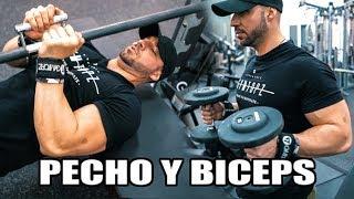 RUTINA DE PECHO Y BICEPS DEMOLEDORA |  Gymtopz