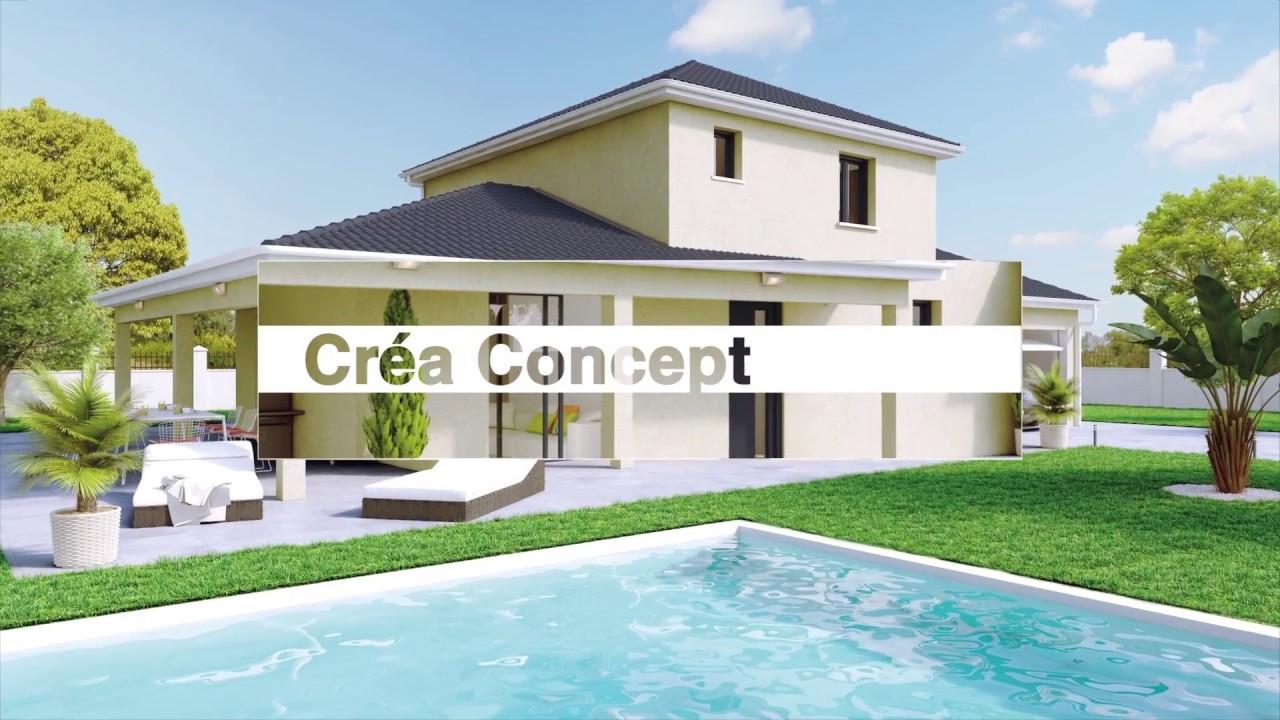 cr a concept constructeur de maisons depuis plus de 20 ans youtube. Black Bedroom Furniture Sets. Home Design Ideas