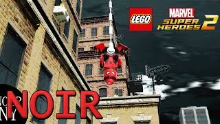 LEGO MARVEL SUPER HEROES 2 gameplay | noir New-York, Spider man homecoming | fan made