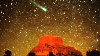 solar system - Comet Hyakutake